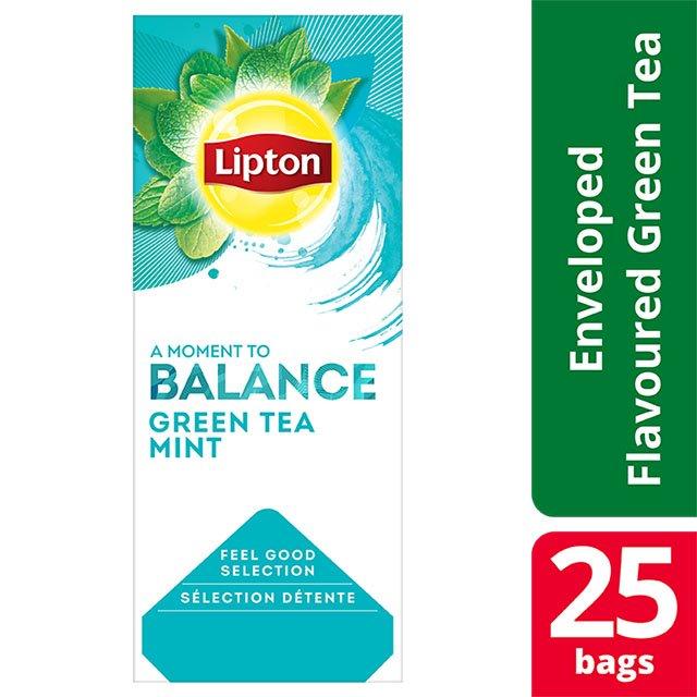 Lipton Πράσινο Τσάι Μέντα 25 Φακελάκια