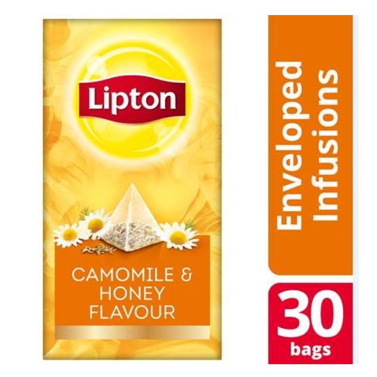 Lipton Πυραμίδα Premium χαμομήλι και μέλι 2gr