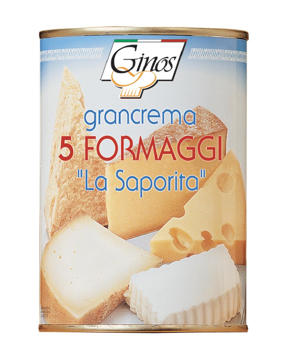 """Κρέμα 5 τυριών """"La saporita"""" 400gr"""