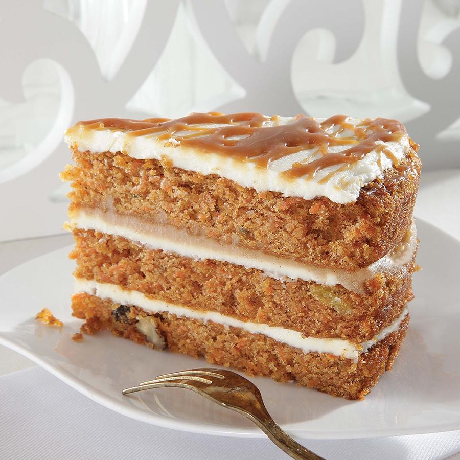 Caramel Carrot Cake 1.64kg (12 μερίδες)