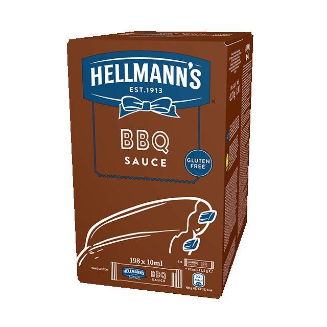 Ηellmann's BBQ Μεριδάκια 10 ml