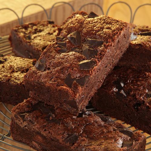Triple Chocolate Brownie 1.53kg (16 μερίδες)