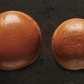 Μπριος ψωμάκι για Burger 130gr Ζεω Bakers