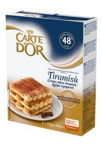 Carte D'or μείγμα για κρέμα τιραμισου 540Gr