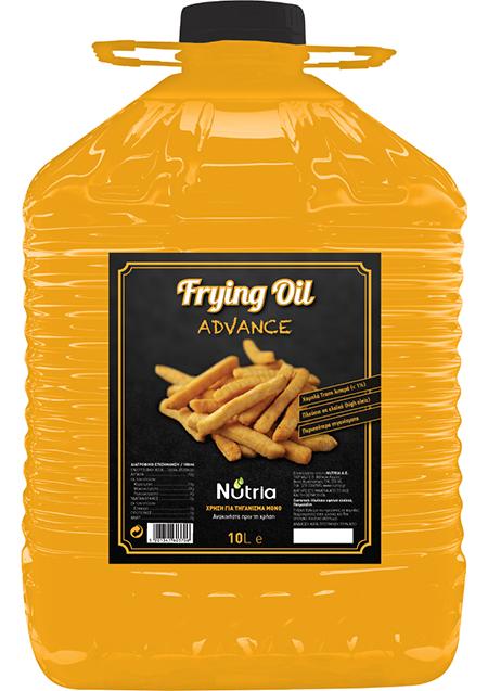 Frying oil advance Nutria Φ.Pet 10lt