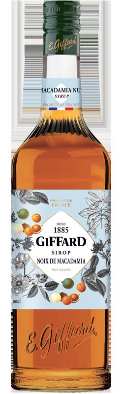 Macadamia Nut Syrup Giffard 1lt