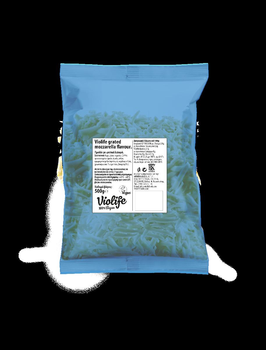 Vegan mozzarella τριμμένη VioLife 500γρ