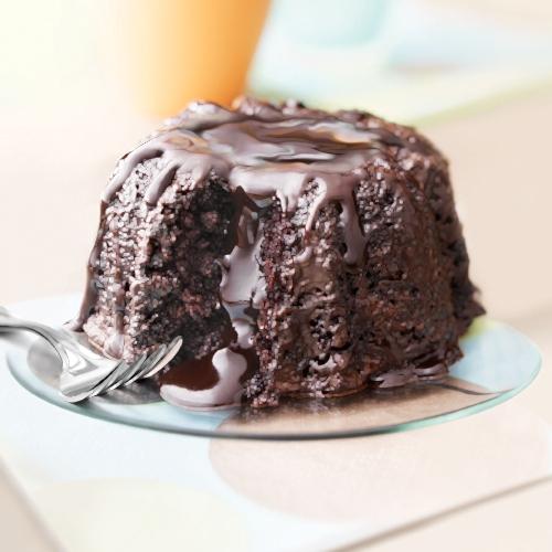 Molten Chocolate Cake 1.28kg Σουφλέ (9μερίδες)