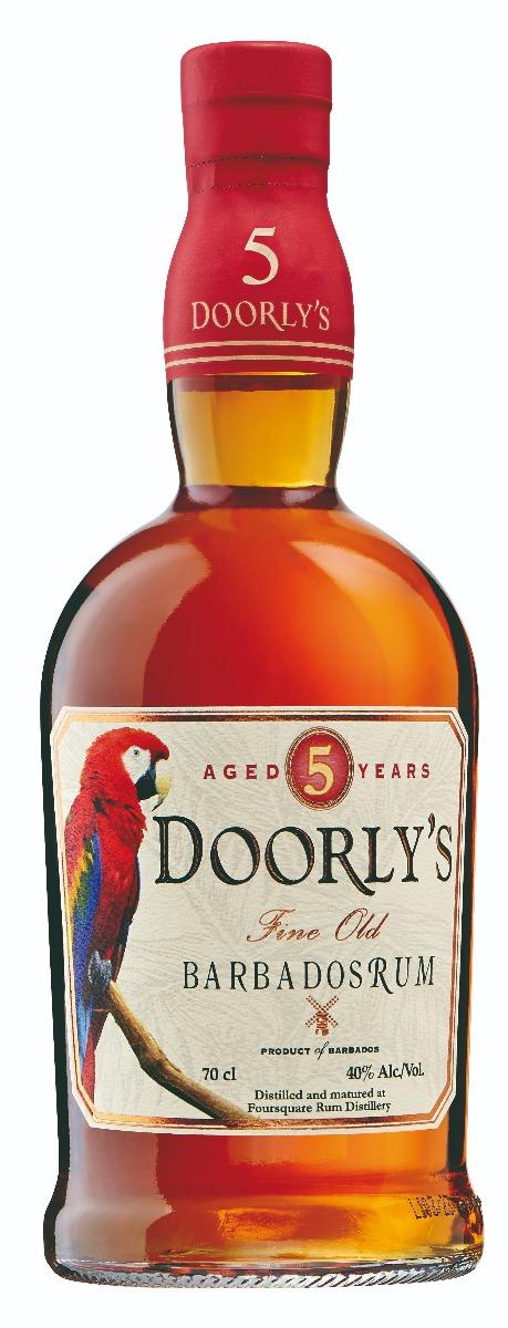 Doorlys 5 years Gold Rum 40% 70cl
